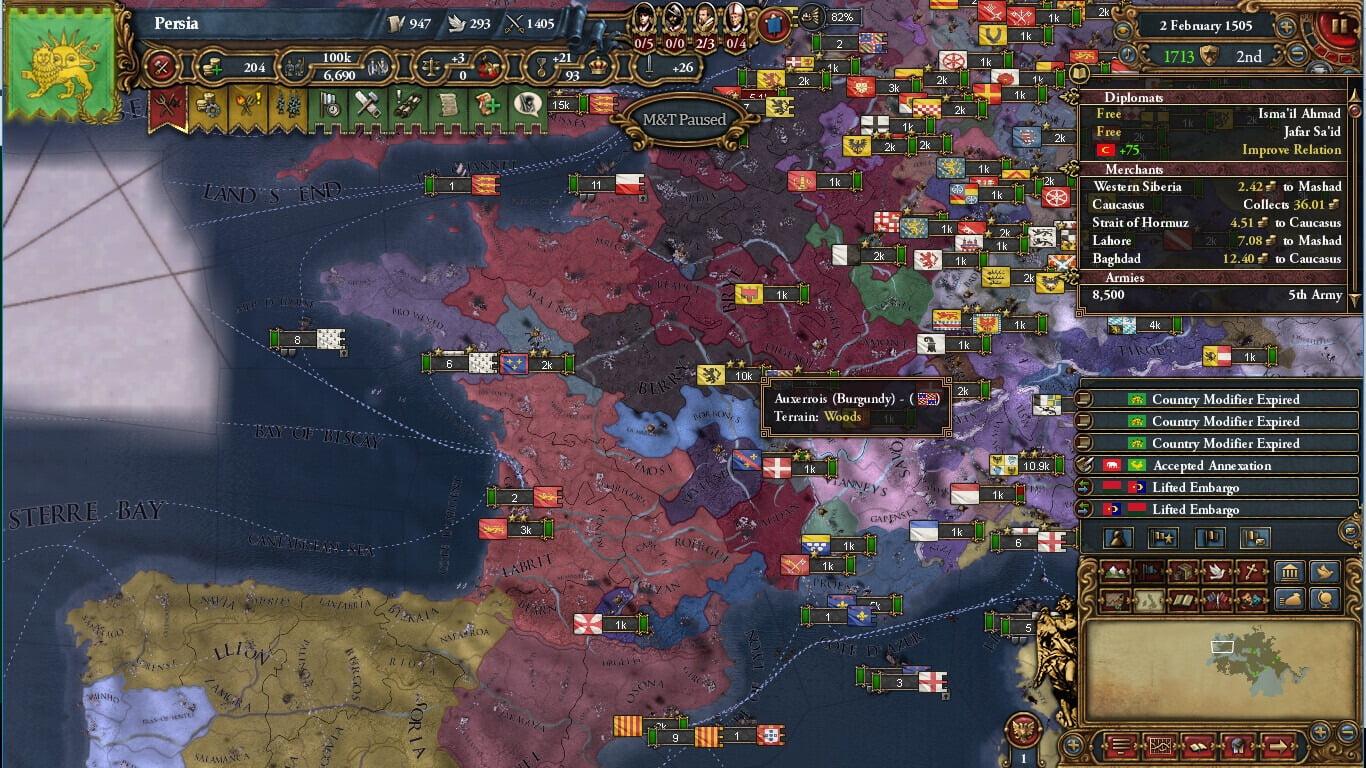 دانلود مد  MEIOU and Taxes برای بازی Europa Universalis IV