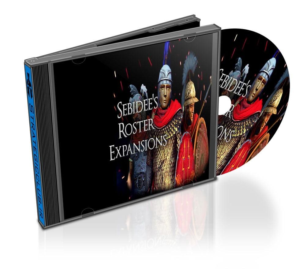 دانلود مد Sebidee's Roster Expansions برای بازی Total War: Rome II