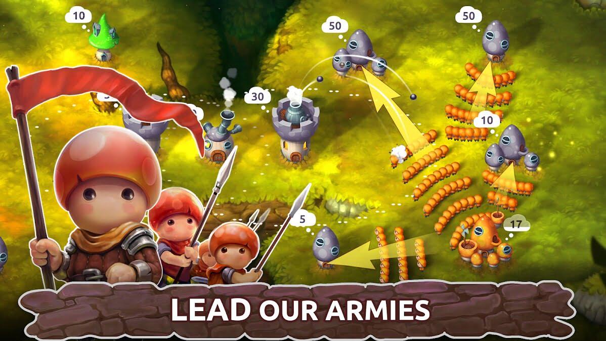 دانلود بازی موبایل Mushroom Wars 2