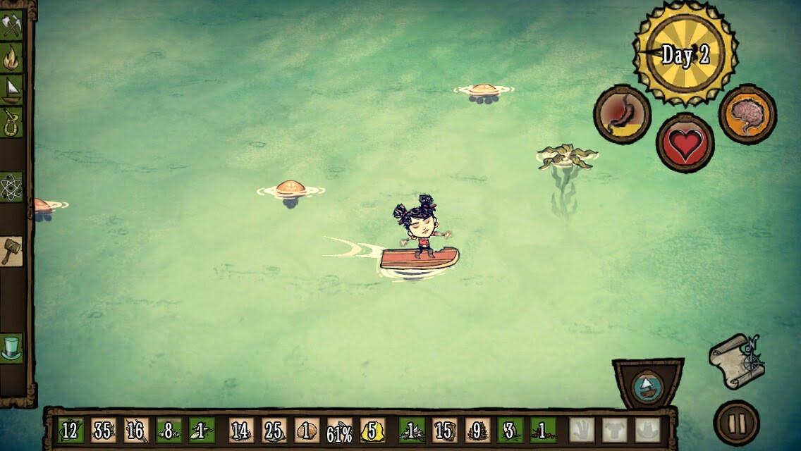 دانلود بازی موبایل Don't Starve: Shipwrecked