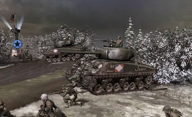 دانلود مد Battle of the Bulge برای بازی Company of Heroes
