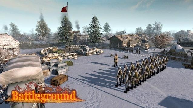 دانلود مد Battleground برای بازی Men of War: Assault Squad 2