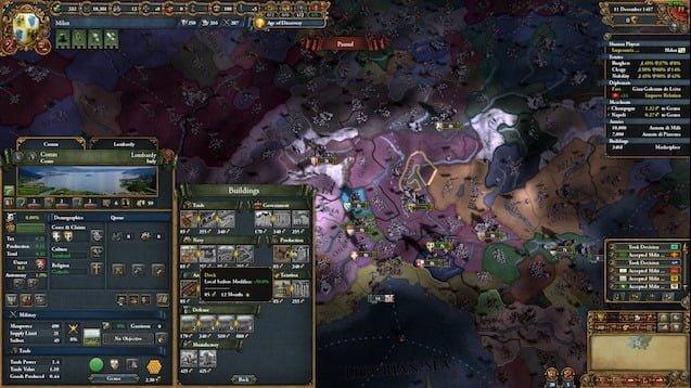 دانلود مد Lux in Tenebris برای بازی Europa Universalis IV