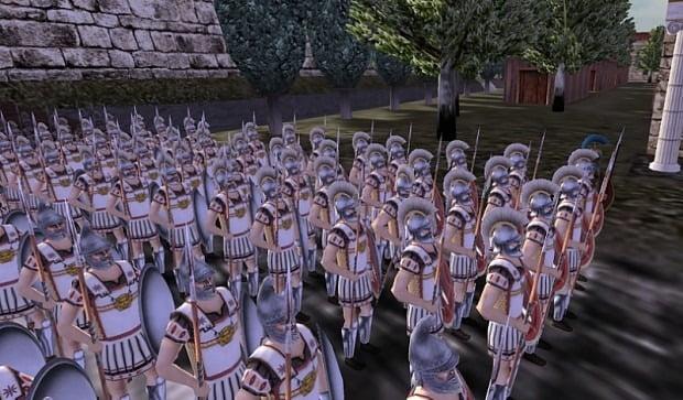 دانلود مد Hegemonia City States برای بازی Rome: Total War