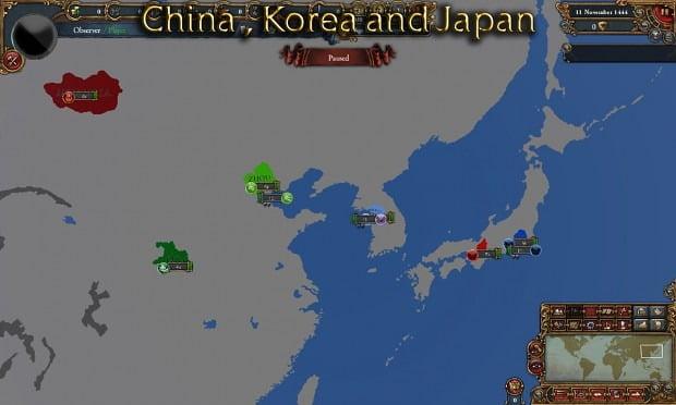 دانلود مد Civilization World برای بازی Europa Universalis IV