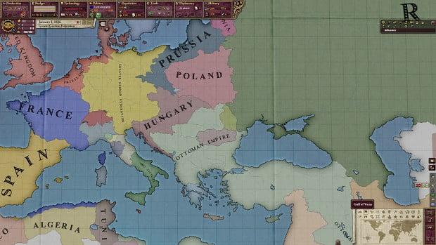 دانلود مد Fall of Napoleon برای بازی Victoria II