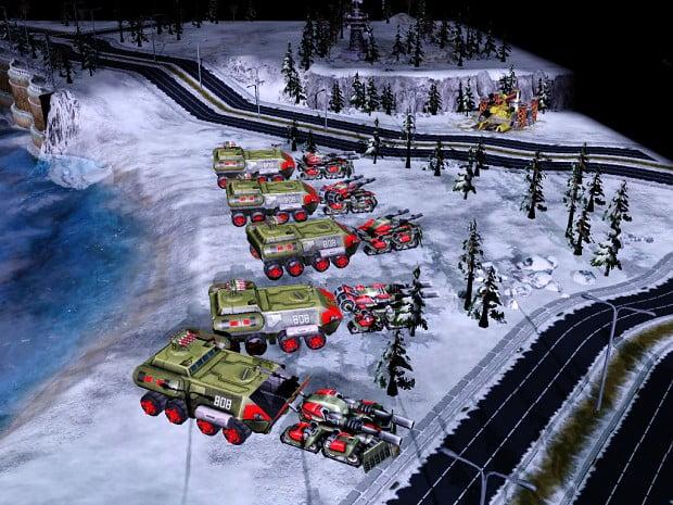 دانلود مد Armor Rush برای بازی C&C: Generals Red Alert 3