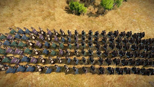 دانلود مد Better Unit Spacing & Camera Mod برای بازی Total War Saga: Troy