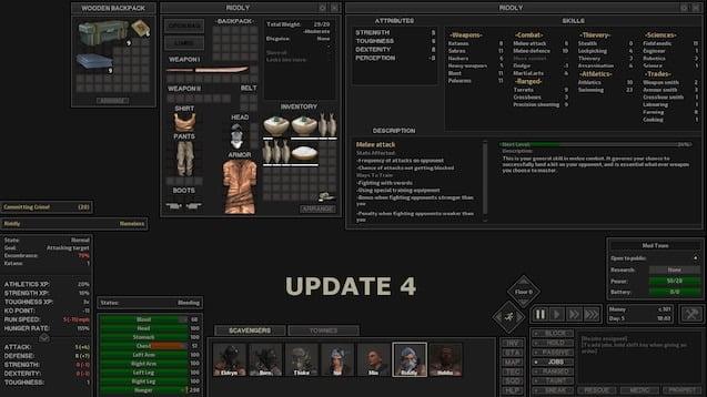 دانلود مد Dark UI برای بازی Kenshi