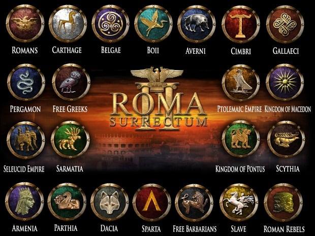 دانلود مد Roma Surrectum III برای بازی Rome: Total War