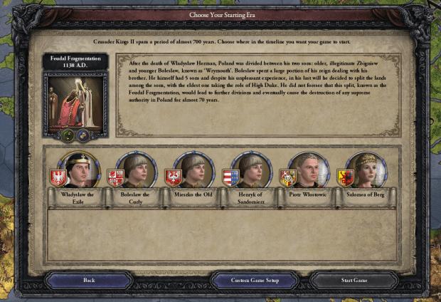 دانلود مد Gesta Principum Polonorum برای بازی Crusader Kings II