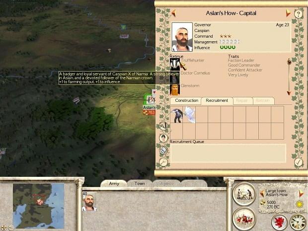 دانلود مد Narnia: Total War برای بازی Rome: Total War