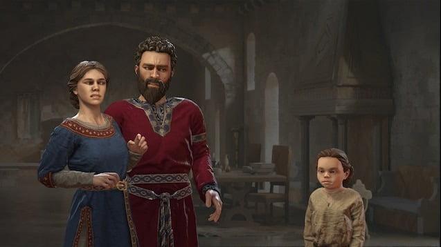 دانلود مد Fullscreen Barbershop برای بازی Crusader Kings III