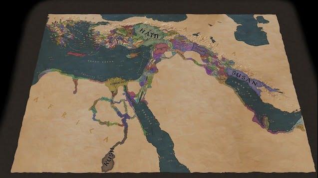 دانلود مد The Bronze Age: Maryannu برای بازی Crusader Kings III