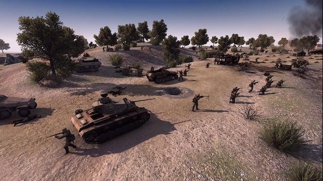 دانلود مد WWII Tactics برای بازی Call To Arms