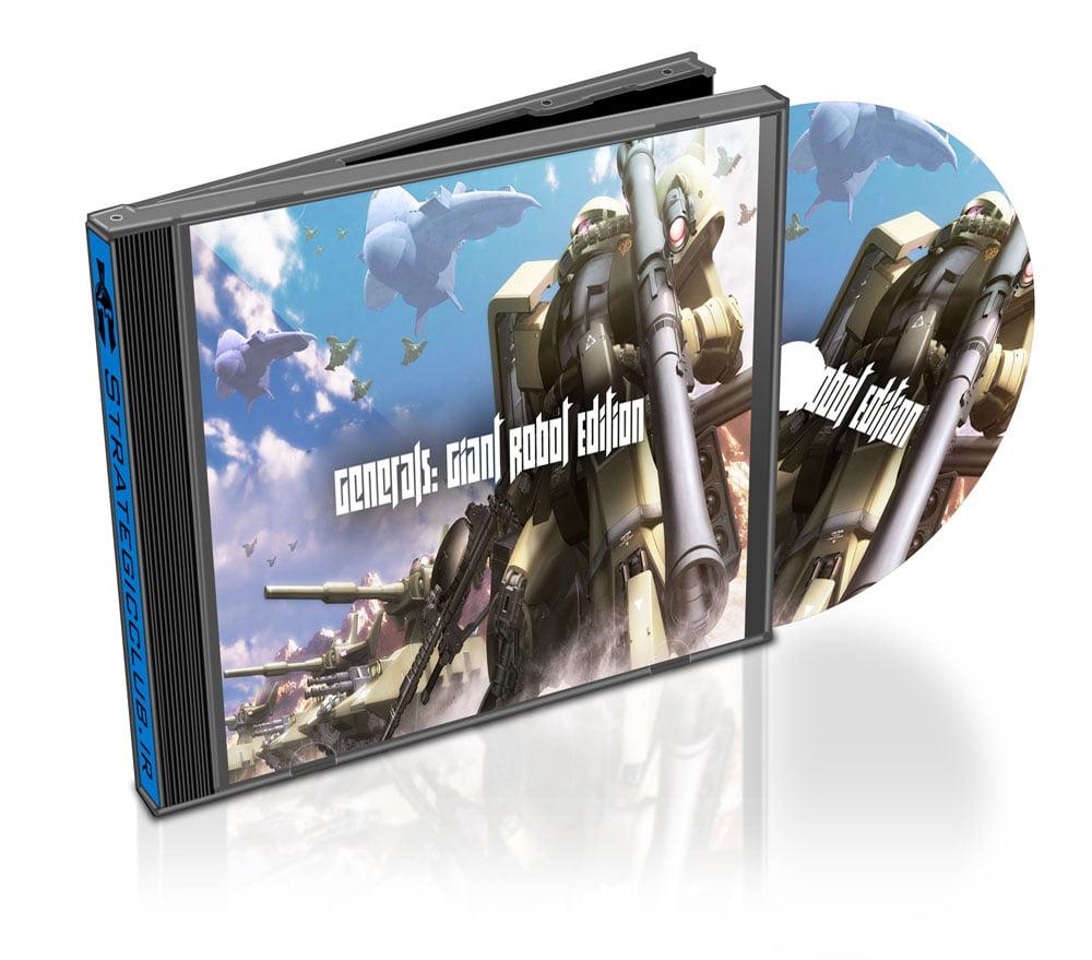 دانلود مد Giant Robot Edition برای بازی Command & Conquer: Zero Hour