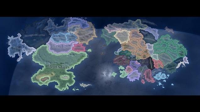 دانلود مد Equestria at War برای بازی Hearts Of Iron IV