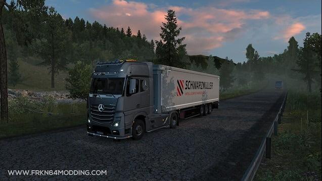 دانلود مد Realistic Graphics برای بازی Euro Truck Simulator 2