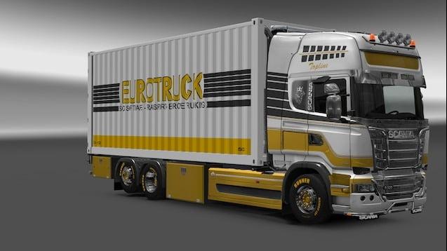 دانلود مد Devil BDF Tandem Truck Pack برای بازی Euro Truck Simulator 2
