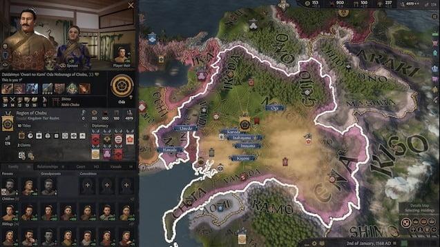 دانلود مد Shogunate برای بازی Crusader Kings III