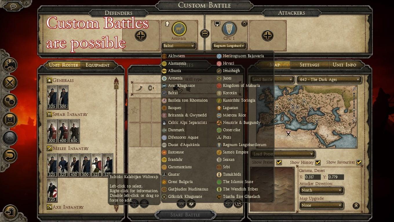 دانلود مد 642 Dark Ages برای بازی Total War: Attila