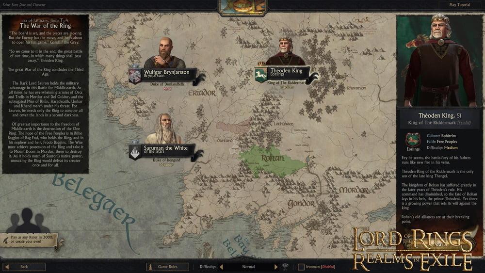 دانلود مد LotR: Realms in Exile برای بازی Crusader Kings III