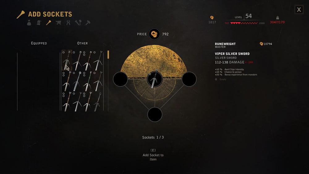 دانلود مد Vladimir UI برای بازی The Witcher 3: Wild Hunt