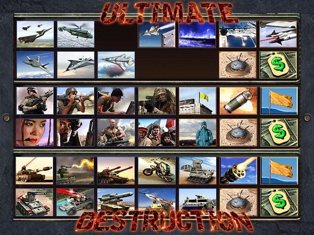 دانلود مد Ultimate Destruction برای بازی Command & Conquer: Zero Hour