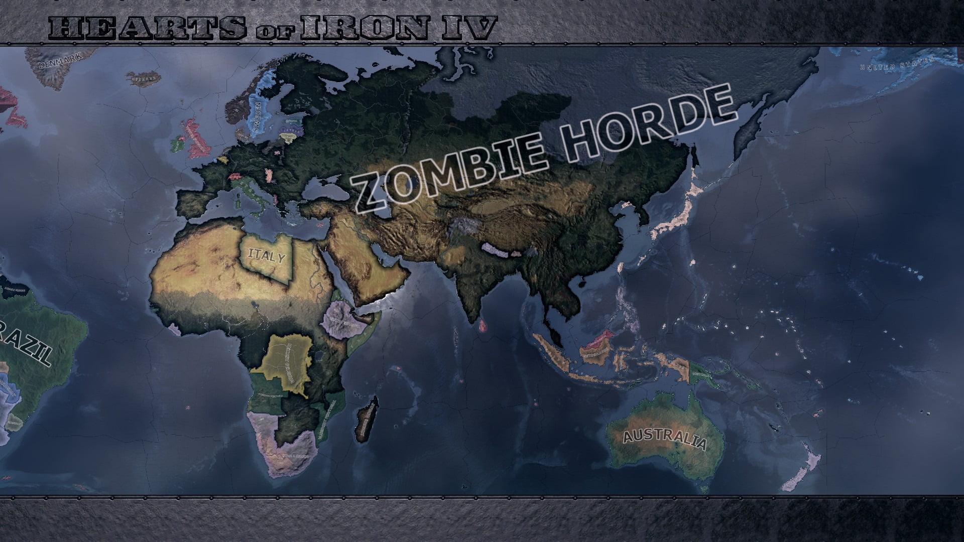 دانلود مد Infection برای بازی Hearts of Iron IV