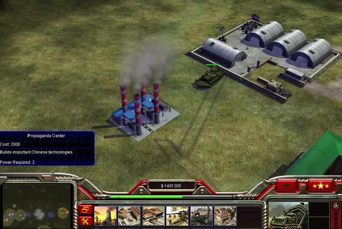 دانلود مد Iran برای بازی C&C: Generals Zero Hour