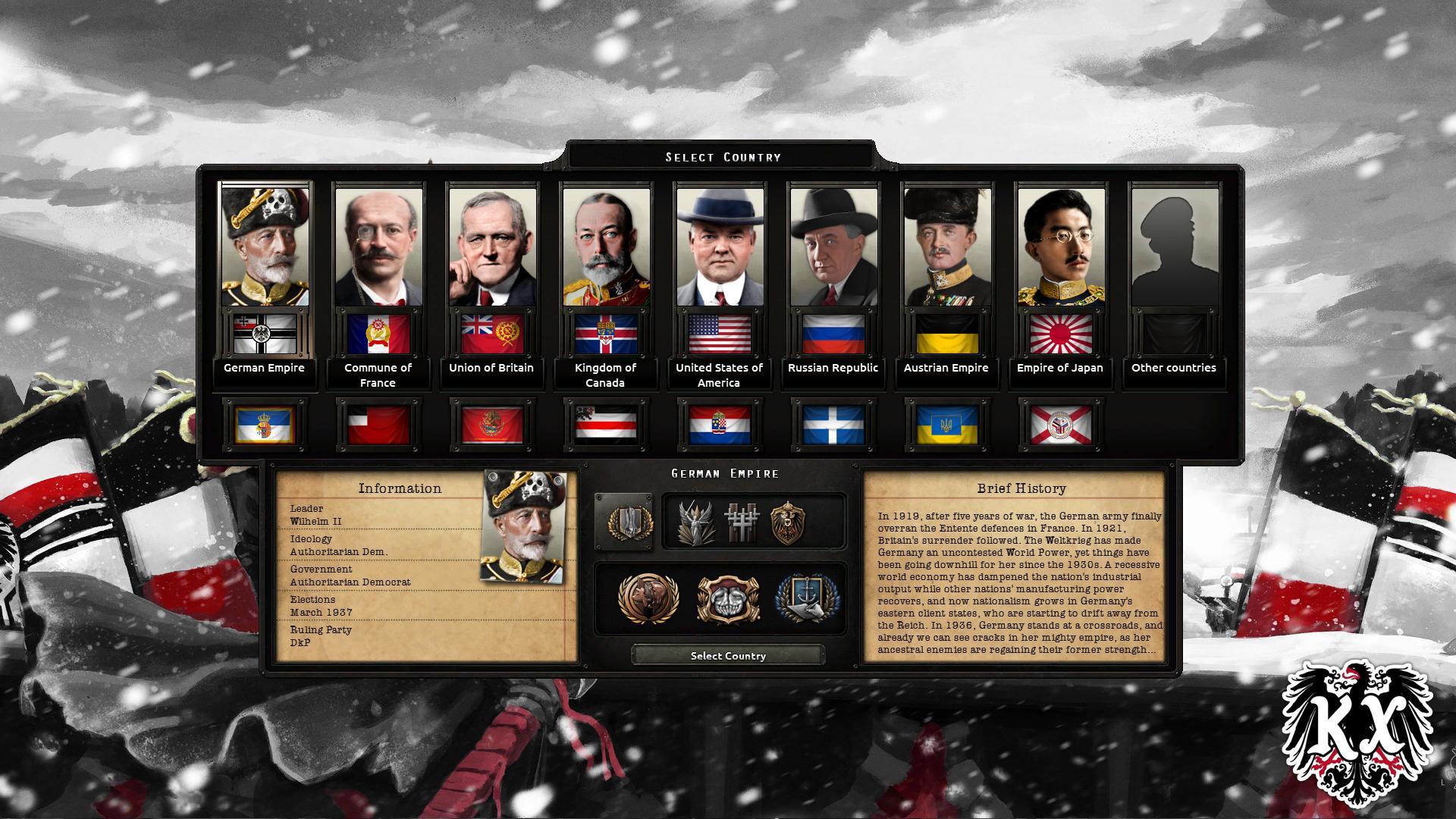 دانلود مد Kaiserredux برای بازی Hearts Of Iron IV