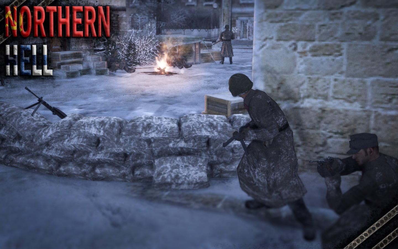 دانلود مد Northern Hell برای بازی Men of War: Assault Squad 2