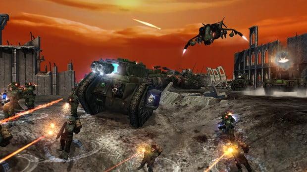 دانلود مد Unification برای بازی Dawn of War Soulstorm