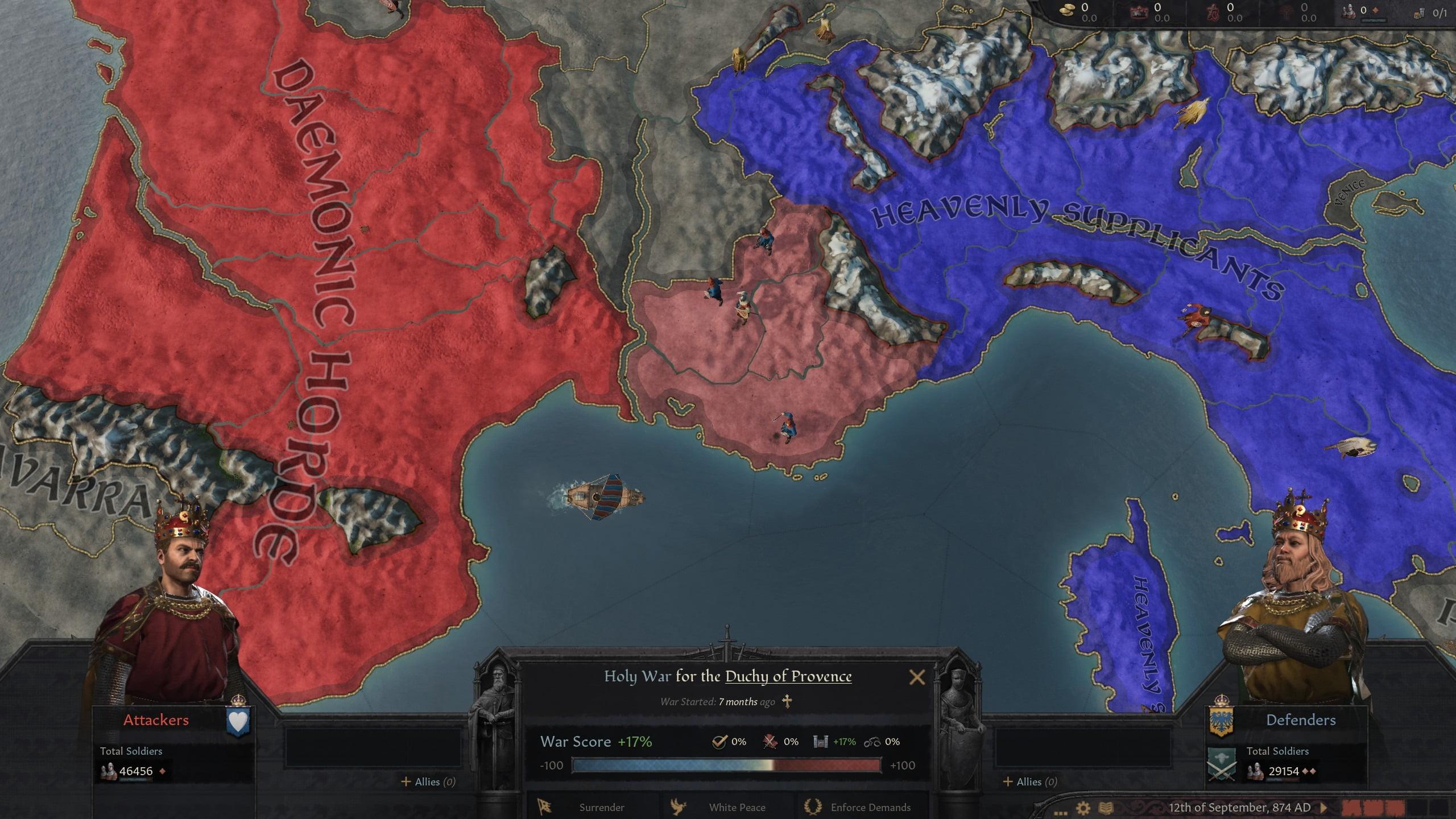 دانلود مد Pantheon of the Gods برای بازی Crusader Kings III