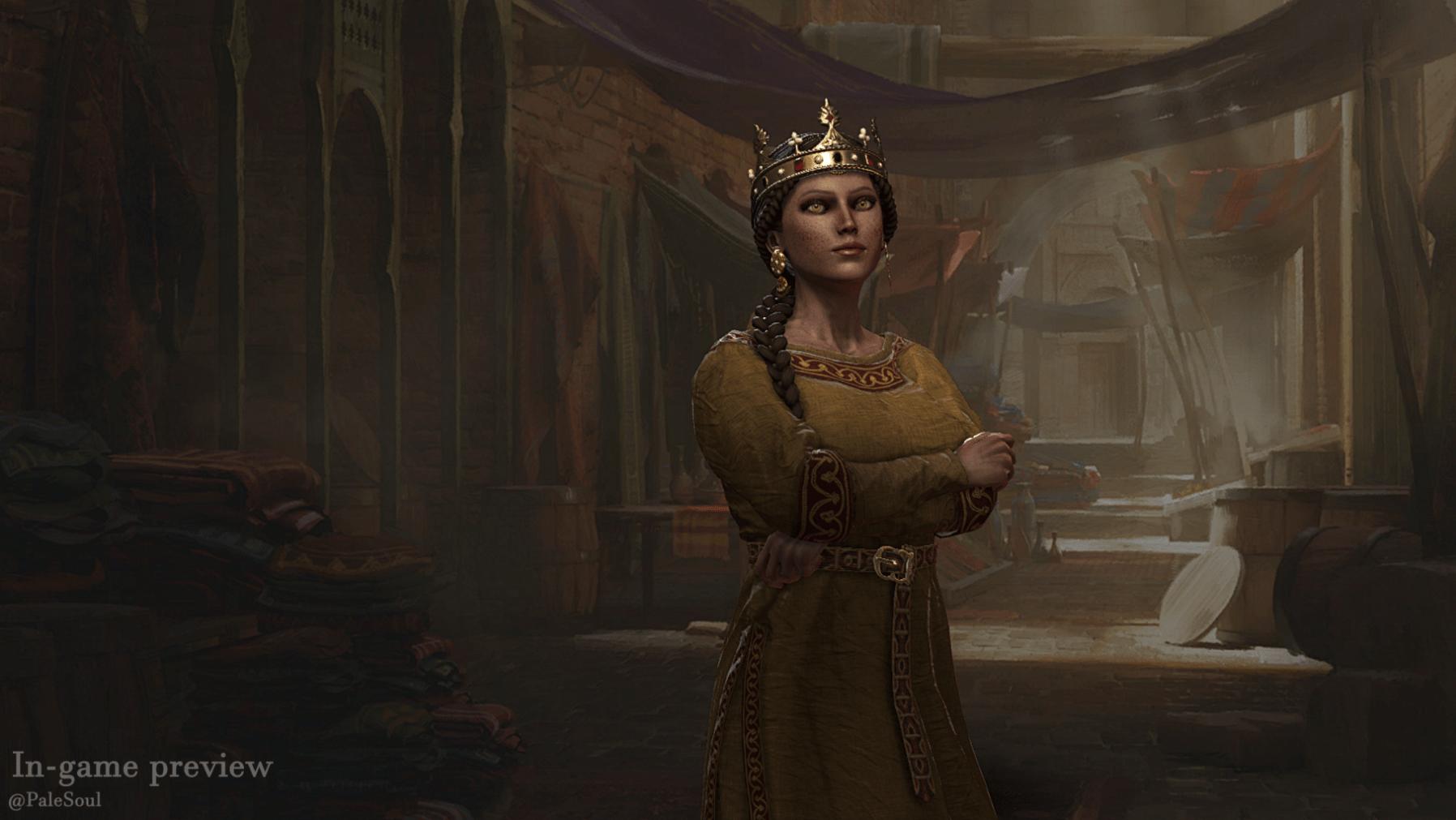 دانلود مد Beautiful Females برای بازی Crusader Kings III