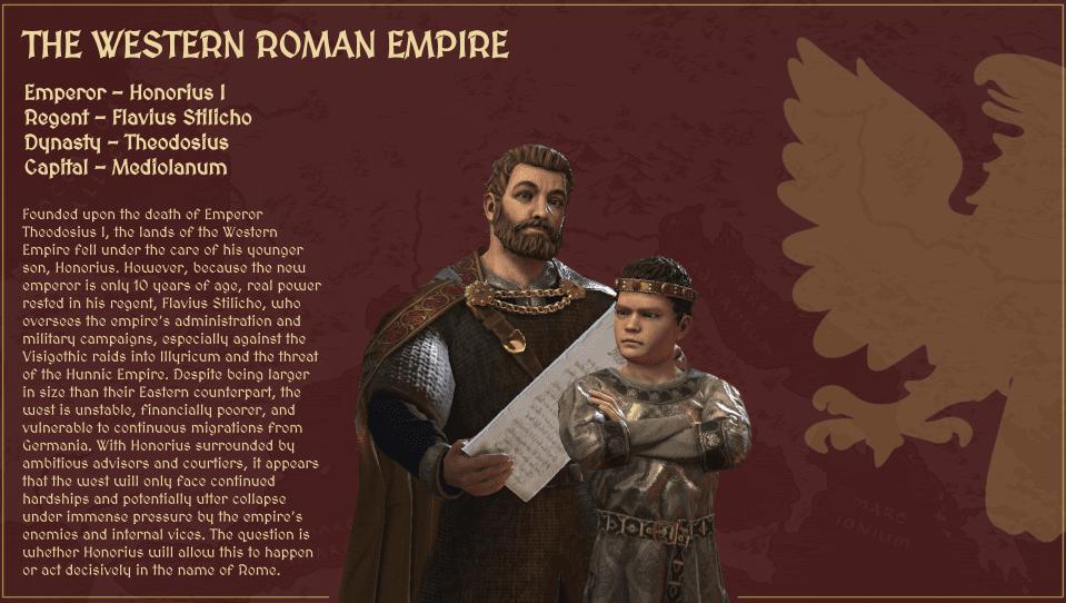 دانلود مد The Fallen Eagle: The Dawn of the Dark Ages برای بازی Crusader Kings III