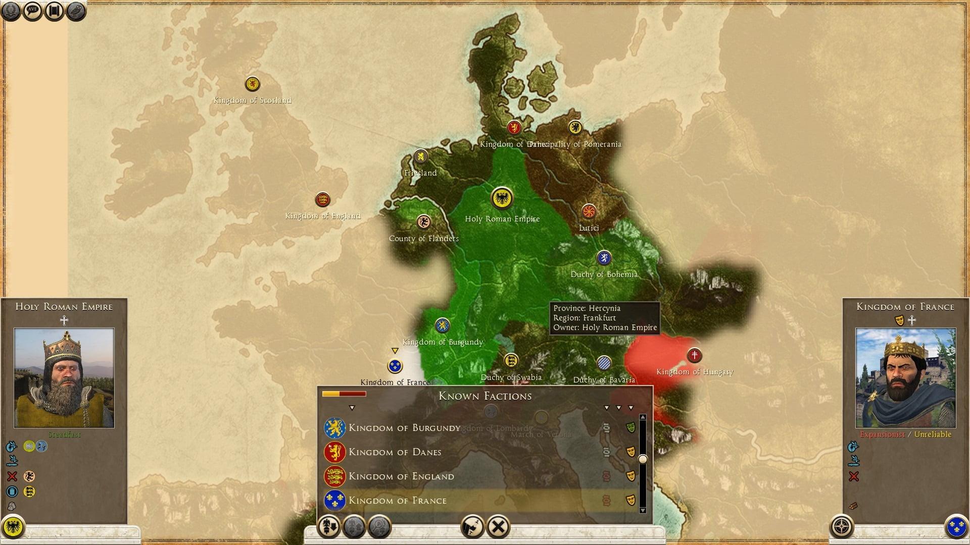 دانلود مد Medieval 1100 AD برای بازی Total War: Rome II