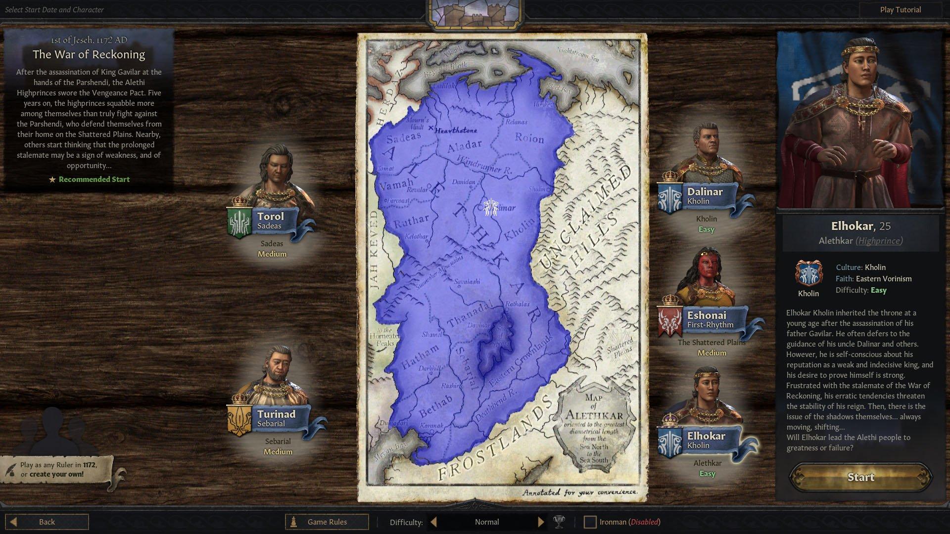 دانلود مد The Way of Kings برای بازی Crusader Kings III
