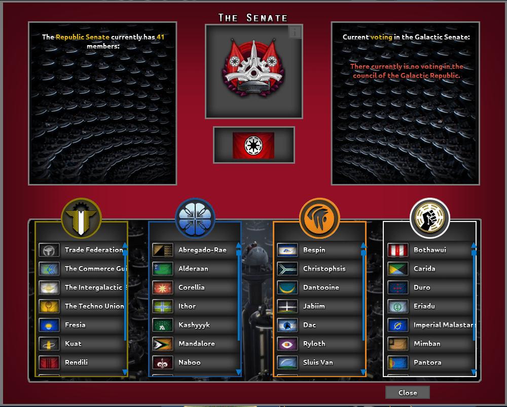 دانلود مد Star Wars: Palpatine's Gamble برای بازی Hearts Of Iron IV