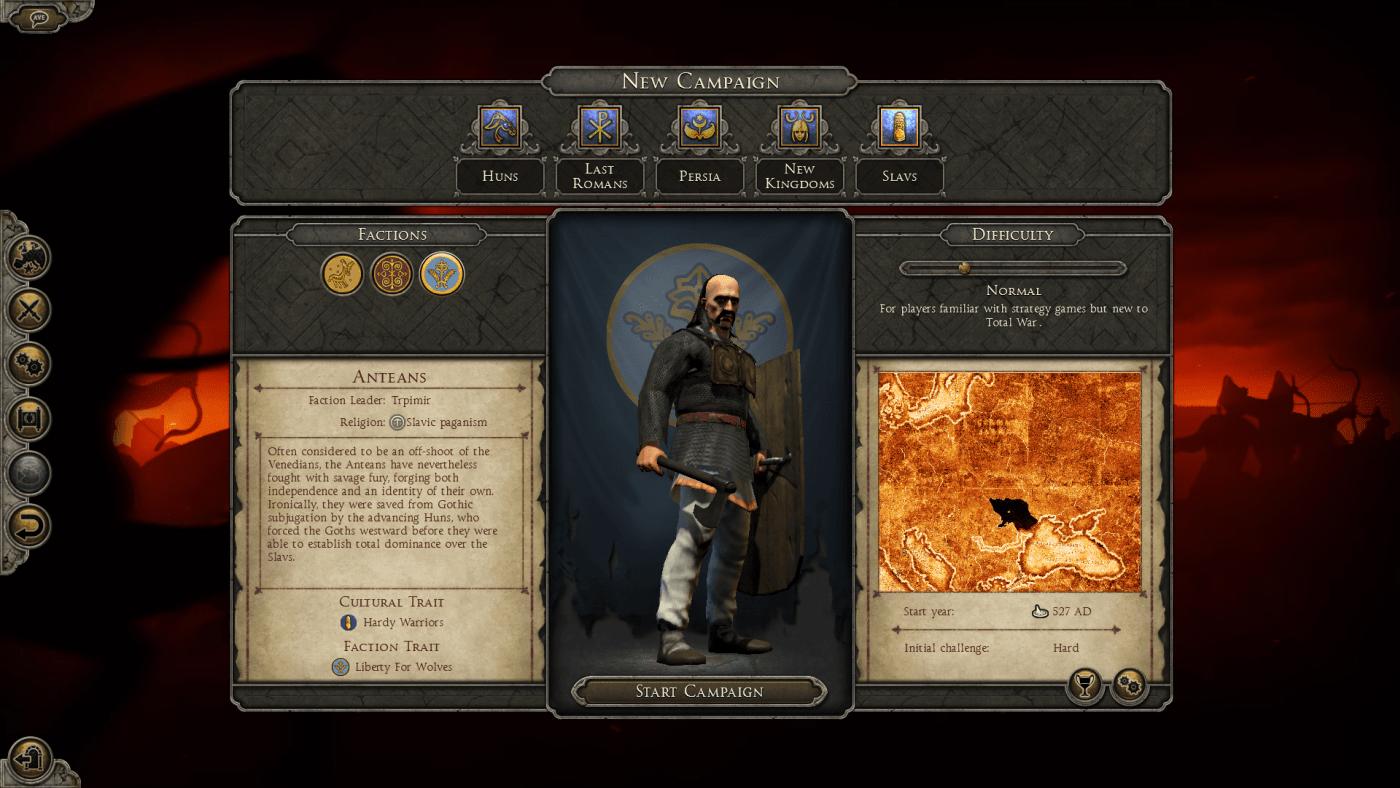دانلود مد Dark Ages AD 527: The Age of Justinian برای بازی Total War: Attila