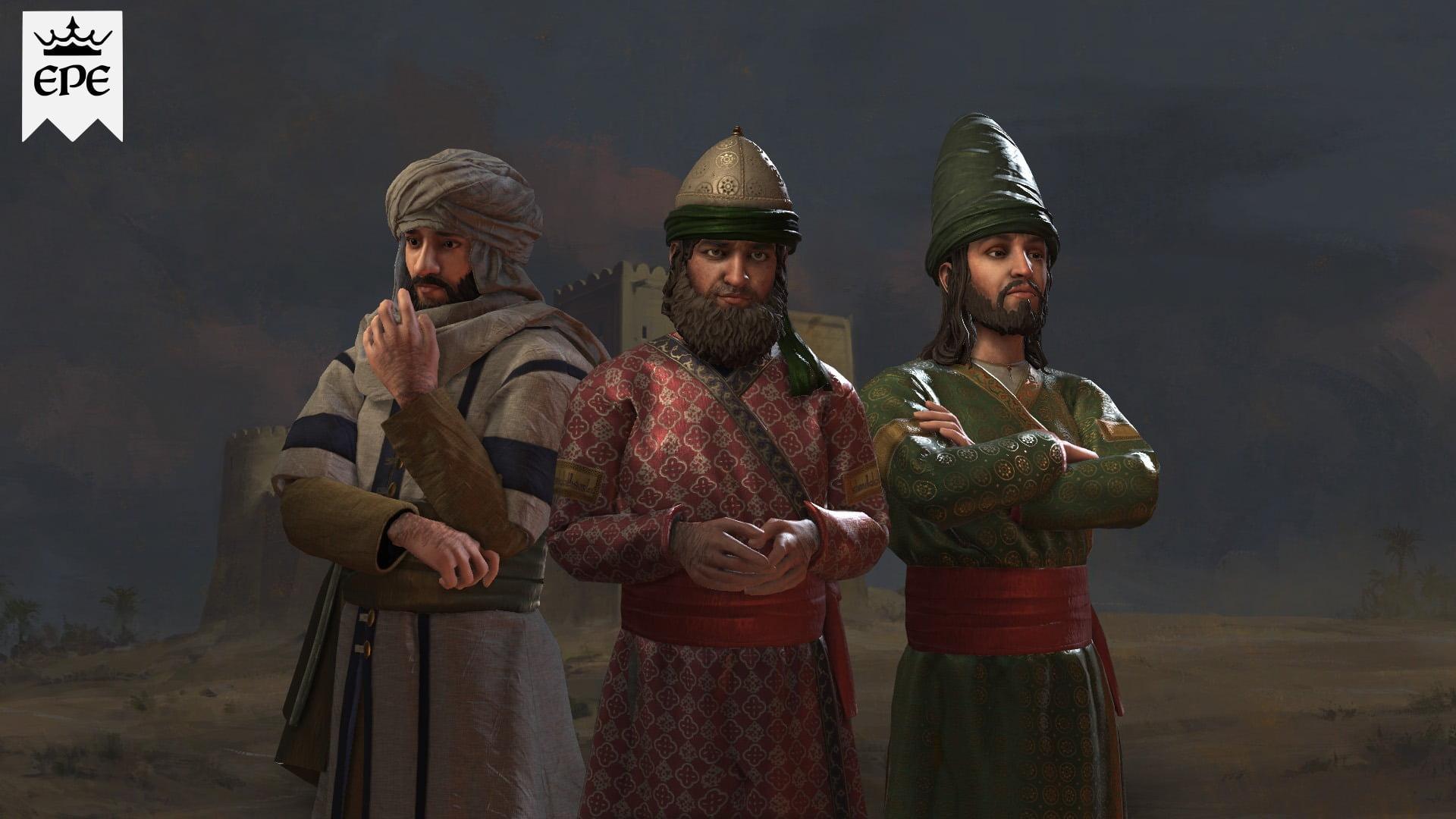 دانلود مد Ethnicities and Portraits Expanded برای بازی Crusader Kings III