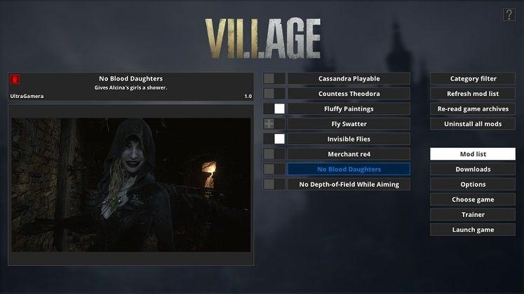 بهترین مدهای بازی Resident Evil Village