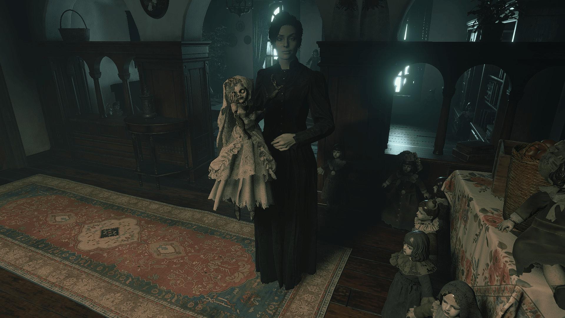 دانلود مد Donna Restored برای بازی Resident Evil Village