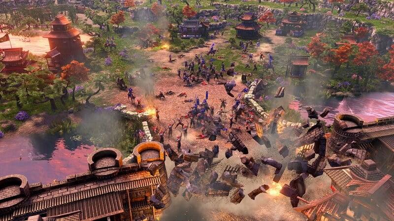 اولین آپدیت بزرگ بازی Age of Empires 3 فکشن آمریکا را به بازی اضافه میکند!