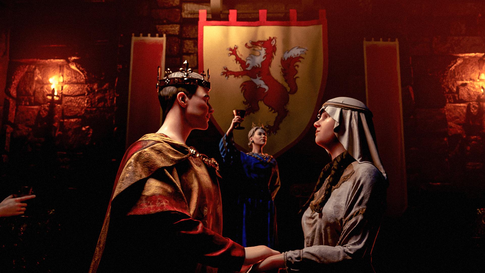 دیالسی Royal court برای بازی Crusader kings 3 معرفی شد!