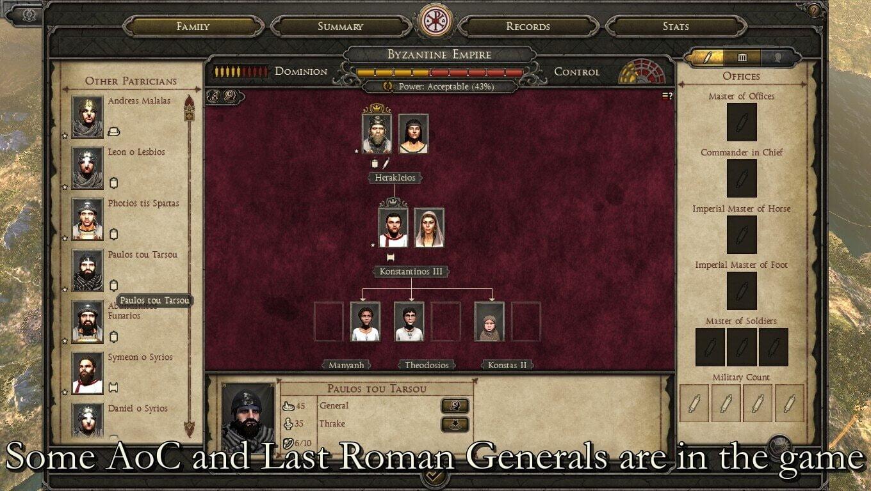 دانلود مد 634 Fire & Swords برای بازی Total War: Attila