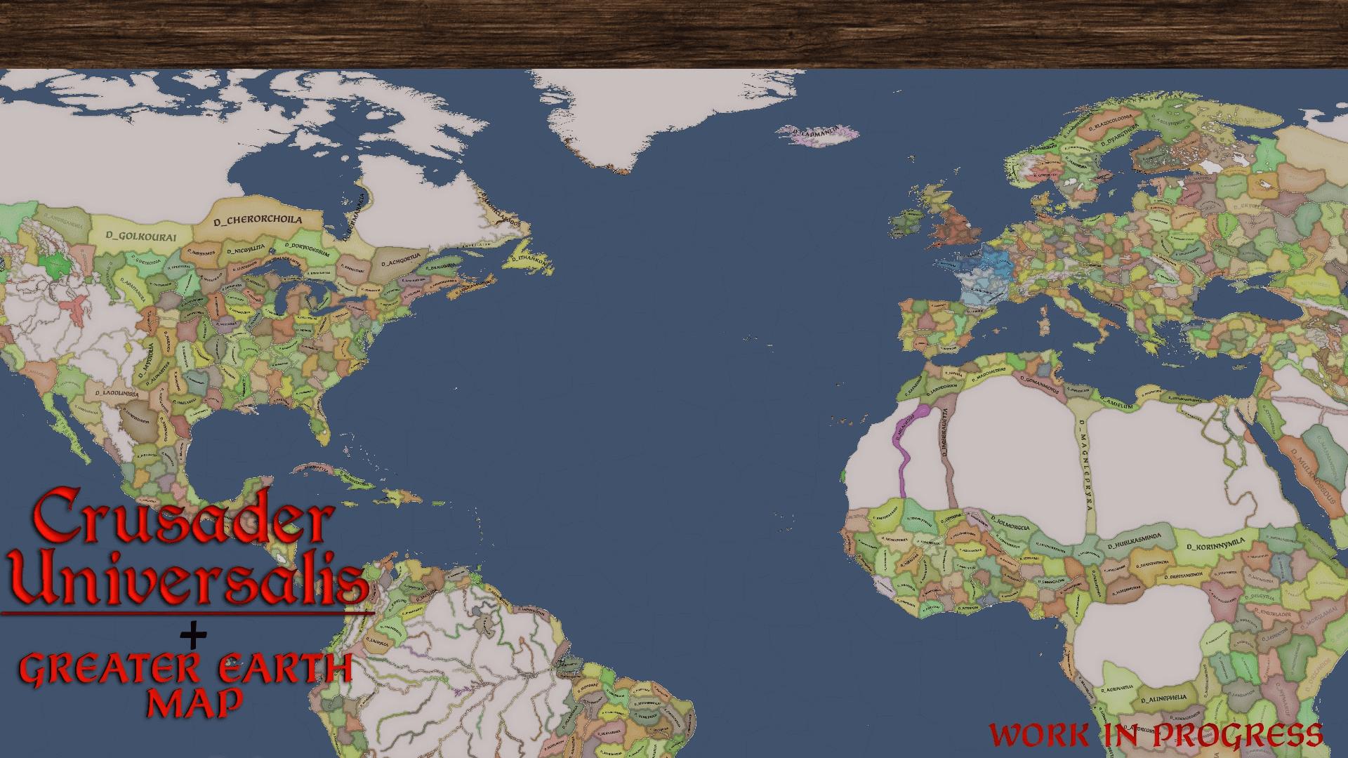 دانلود مد Crusader Universalis برای بازی Crusader Kings III