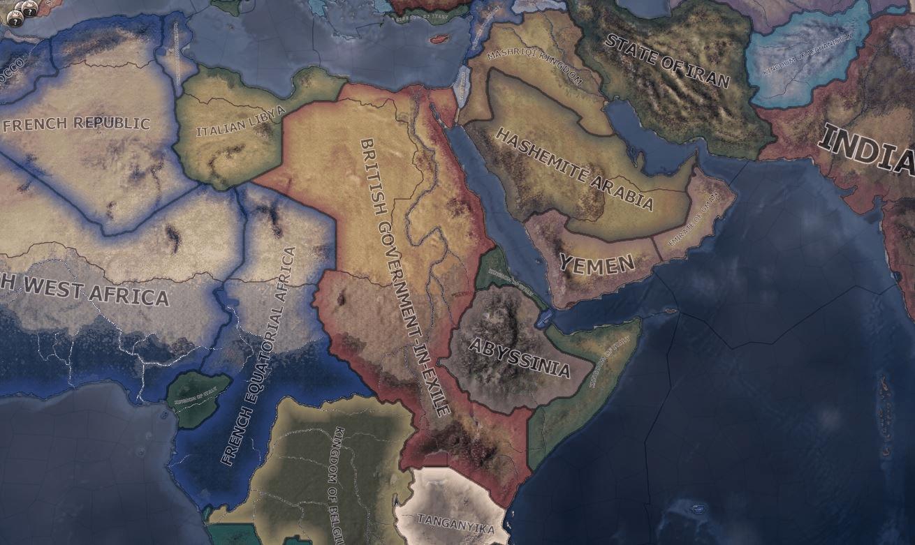 دانلود مد Fuhrerreich: Imperial Nostalgia برای بازی Hearts of Iron IV