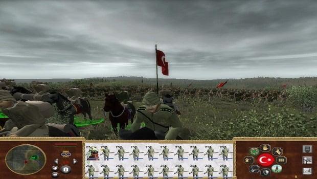 دانلود مد Gallipoli 1915 برای بازی Medieval II: Total War: Kingdoms