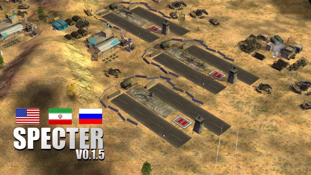 دانلود مد Specter برای بازی C&C: Generals Zero Hour